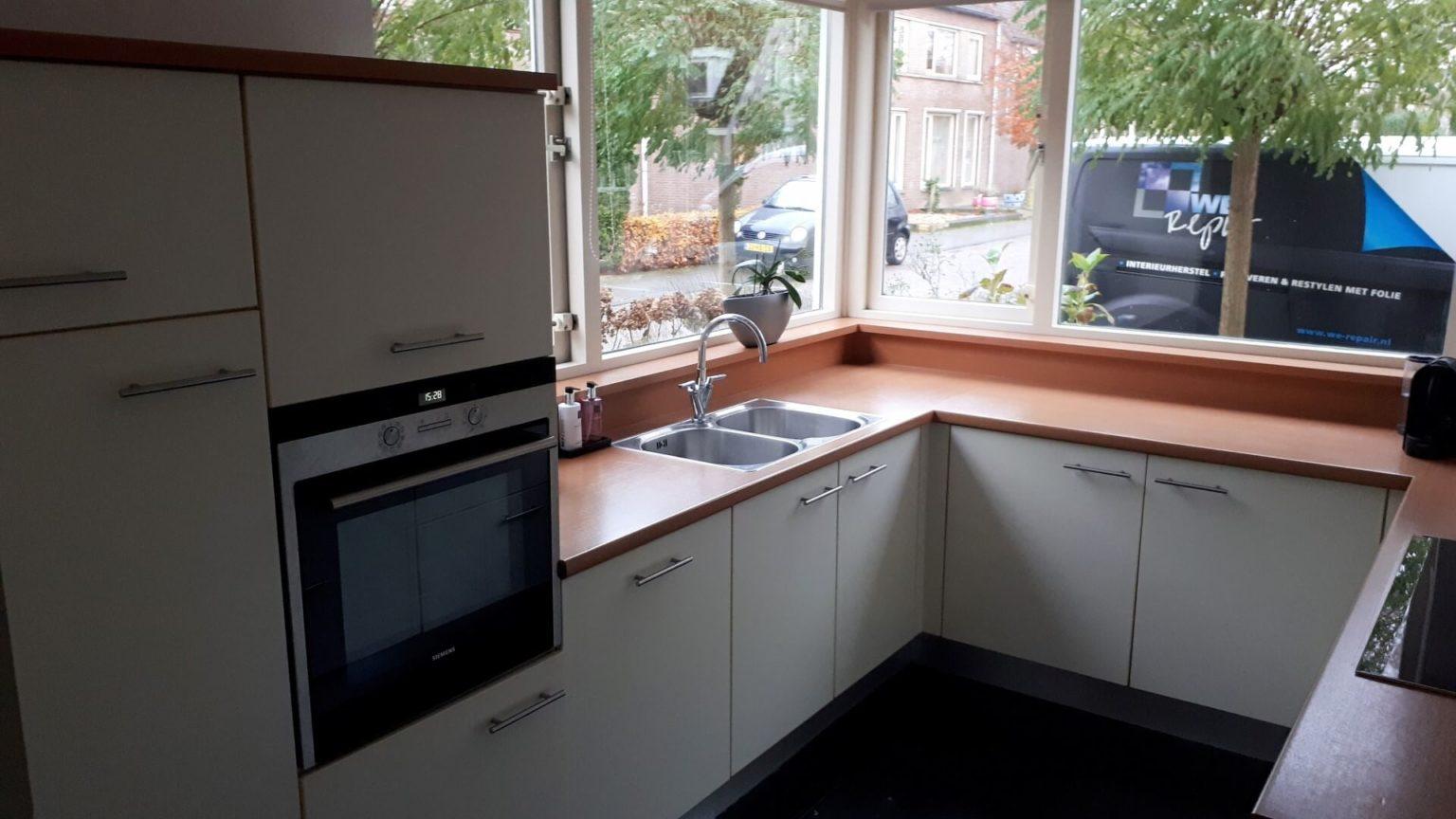 keukenwrap matwit - betonlook folie 3