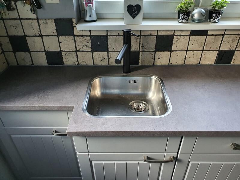 Keuken spuiten & folie, grijs-betonlook 7