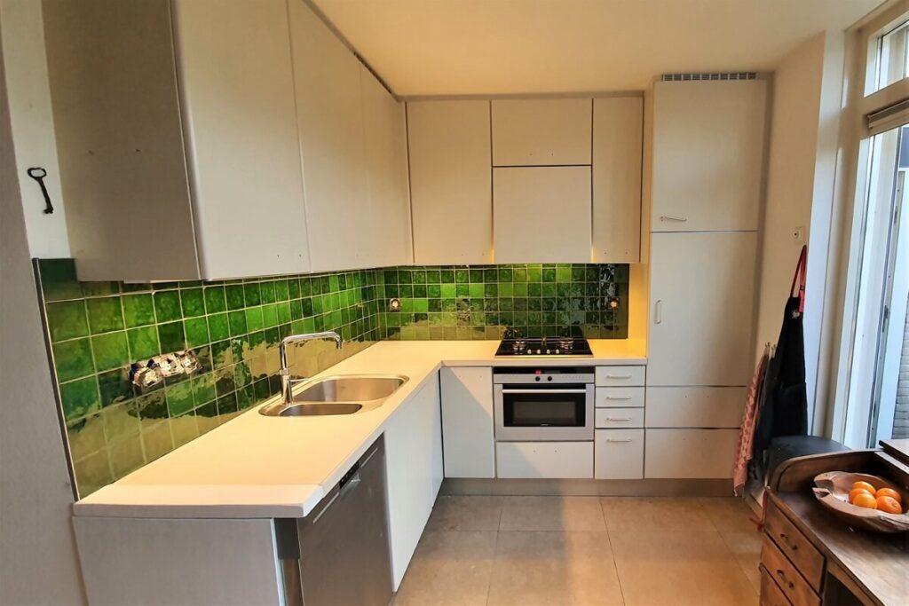 Keukenwrap licht eiken - betonlook donker 3