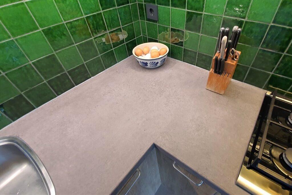 Keukenwrap licht eiken - betonlook donker 8