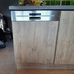 Keukenwrap licht eiken - betonlook donker 6